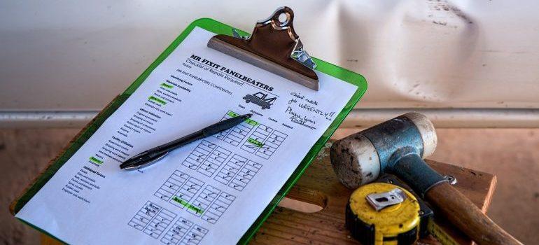 insurance sheet