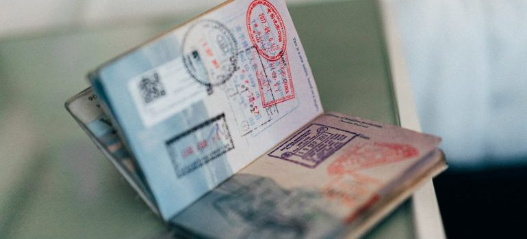 A passport is necessary for moving from the US to Hong Kong