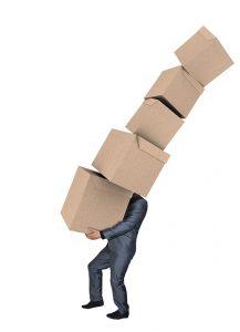 Moving Boxes Man