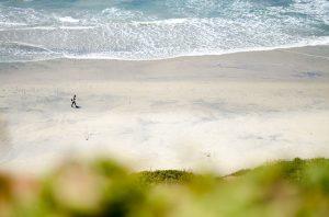 California beach.