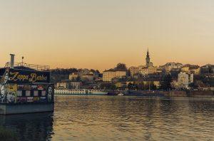 Danube in Belgarde,